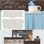 Infographics: Coffee and Credit Cards