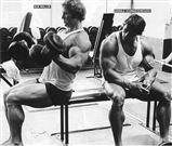 Ken Waller & Arnold Schwarzenegger