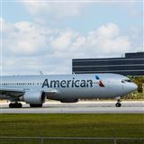 American Airlines Boeing 767 new livery