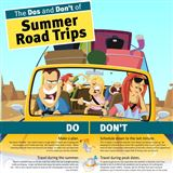 Infographics: The Dos and Don't of Summer Road Trips