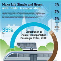 Infographic Public Transportation Statistics
