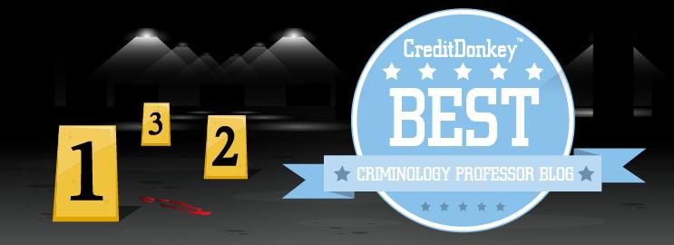 Best Criminology Professor Blog