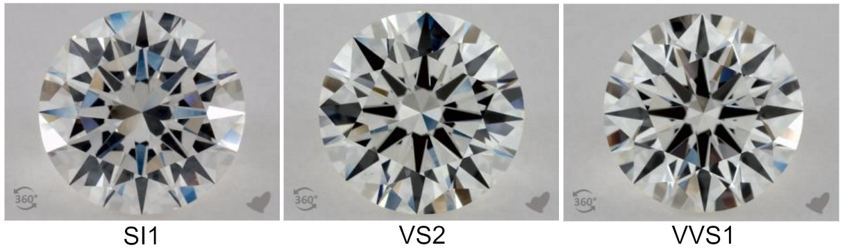 Si1 Clarity Diamond Best Value If You Buy Right