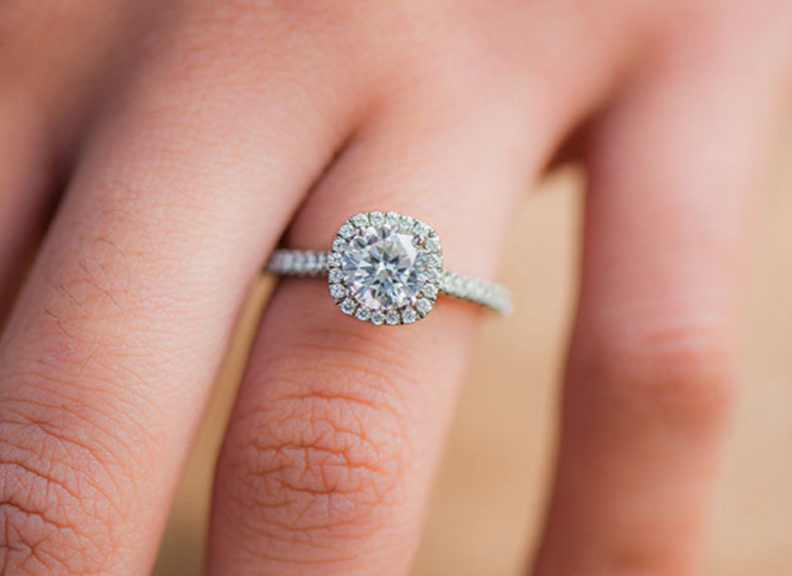 Jewelers Row Chicago Engagement Rings