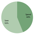 Will you mostly spend or save your tax refund?