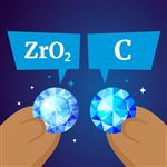 Cubic Zirconia vs Diamond