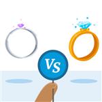 Promise Ring vs Engagement Ring