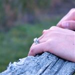 Study: Average Diamond Size for Engagement Rings