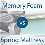 Foam vs Spring Mattress