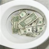 10 Ways You Flush Money Down the Toilet