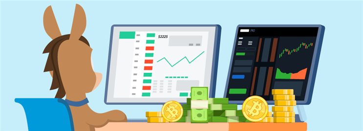 Buy Bitcoin on Robinhood or Coinbase Pro