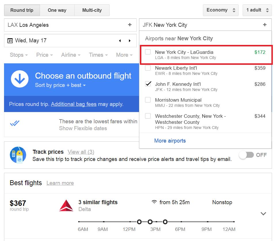 Google Flights - Book Flight with Best Offer - Cheap Flights