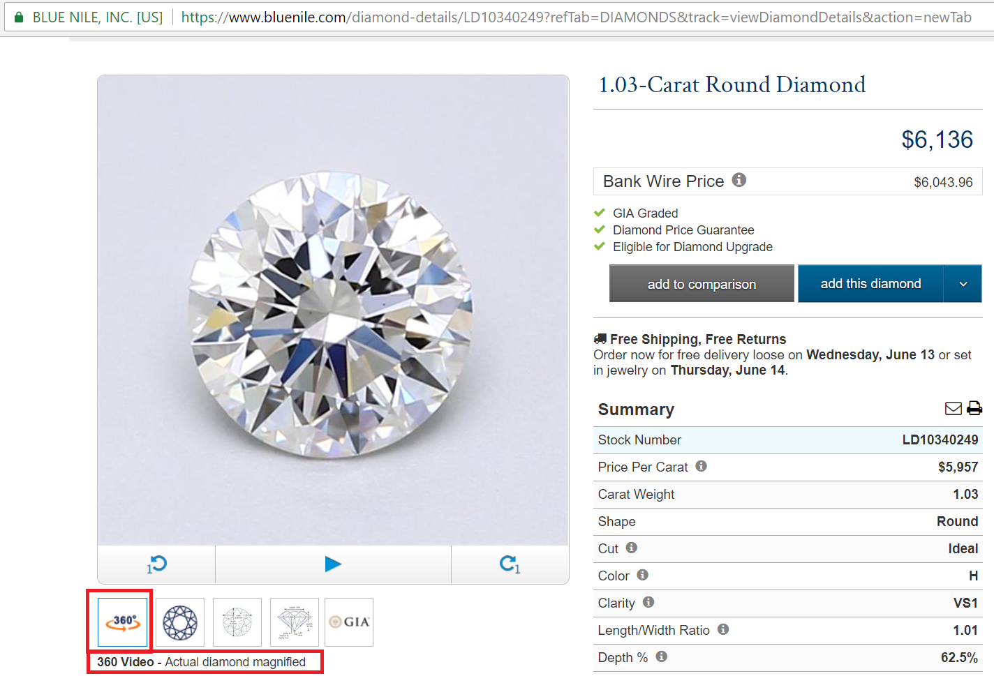 blue nile coupon code loose diamonds