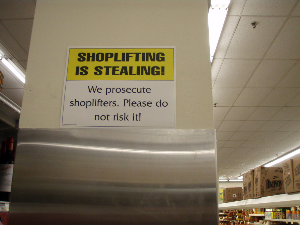 shoplifting theft and people essay Shoplifting is theft of merchandise for sale in a shop, store, or other retail establishment, by an ostensible patron it is one of the most common crimes that police and the courts deal withmost shoplifters are amateurs however, there are people and groups who make their living from shoplifting, and they tend to be more skilled.