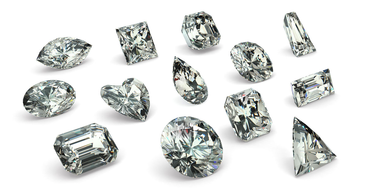 Diamond Shape Guide Different Cuts Explained With Chart