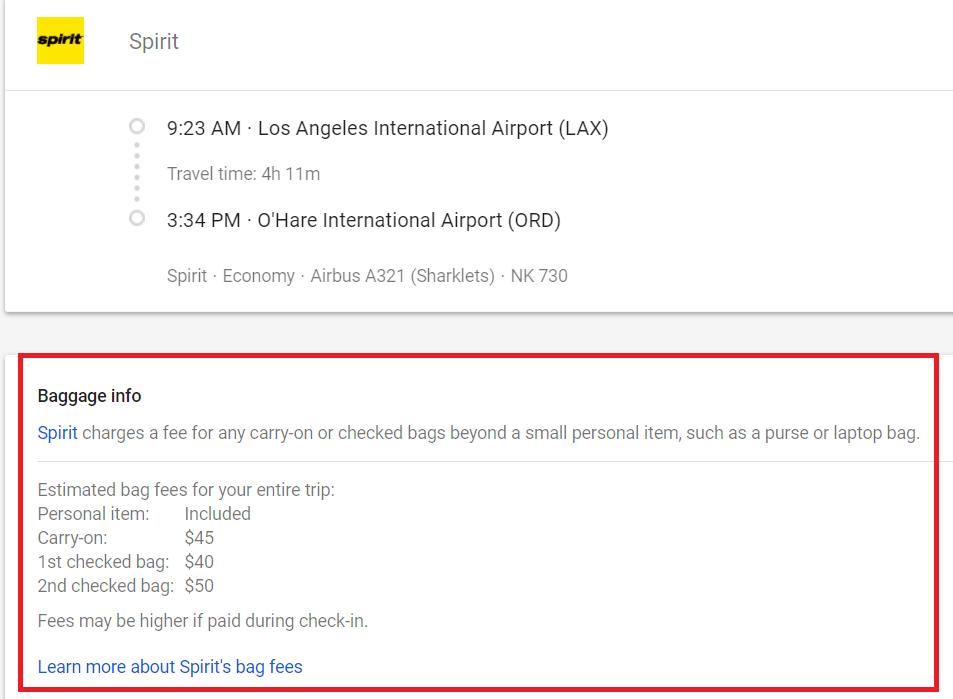 how to get google flights price