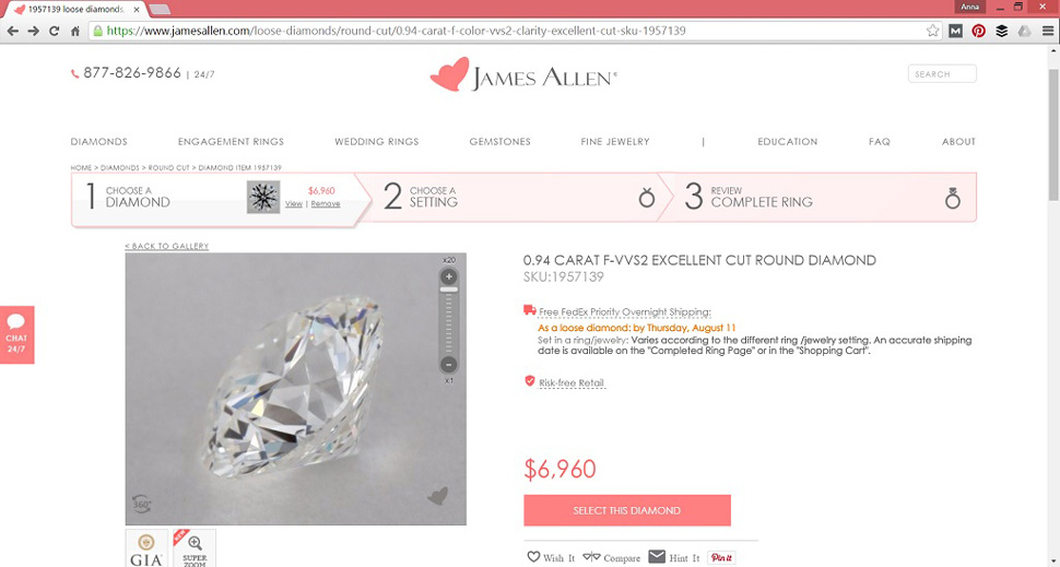 Wheres The Best Place To Buy An Engagement Ring Online - What does dealer invoice price mean online jewelry stores