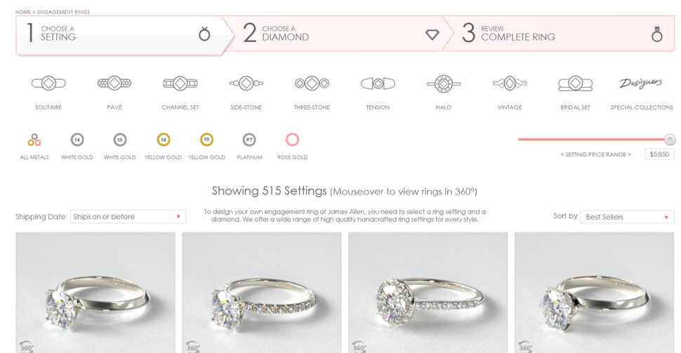 James Allen Review 2018 Read This Before You Buy A Ring