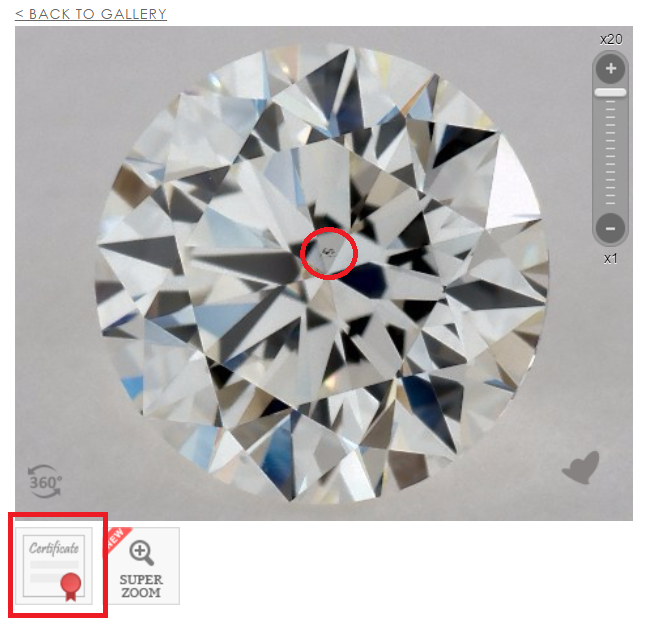 Vs1 Diamond Best For 100 Eye Clean Diamonds