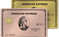 Compare AMEX Platinum vs American Express Gold Card