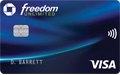 Compare Bank of America Travel Rewards vs Chase Freedom Unlimited