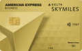 Delta SkyMiles Gold Business American Express Card