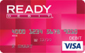 READYdebit Visa Prepaid Card
