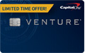Compare BankAmericard Travel Rewards vs Capital One Venture
